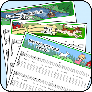 Song Sheets Icon MELODY
