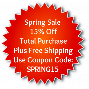 Coupon Spring Sale 15% Off Free Ship